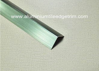 Chiny Good Anodized Champagne Aluminium Angle Trim 20mm x 20mm x 2.5m dostawca
