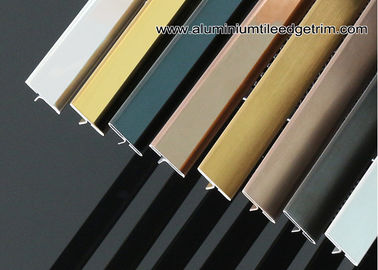 20mm / 25mm Stainless Steel T Molding / Bar Trim For Wall Or Floor Partition